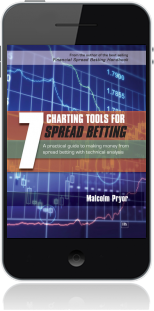 Cover of 7 Charting Tools for Spread Betting (Mobile Phone)
