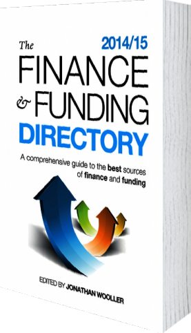 Cover of The Finance and Funding Directory 2014/15 by Jonathan Wooller