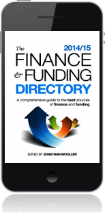 Cover of The Finance and Funding Directory 2014/15 on Mobile by Jonathan Wooller