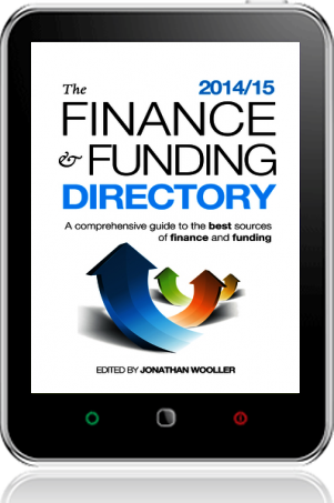 Cover of The Finance and Funding Directory 2014/15 on Tablet by Jonathan Wooller