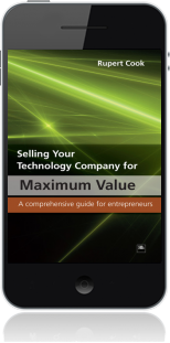 Cover of Selling Your Technology Company for Maximum Value on Mobile by Rupert Cook