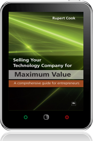 Cover of Selling Your Technology Company for Maximum Value on Tablet by Rupert Cook